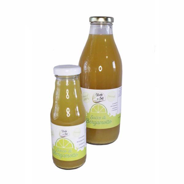Succo Di Bergamotto 100% Bottiglia Da 200 CL