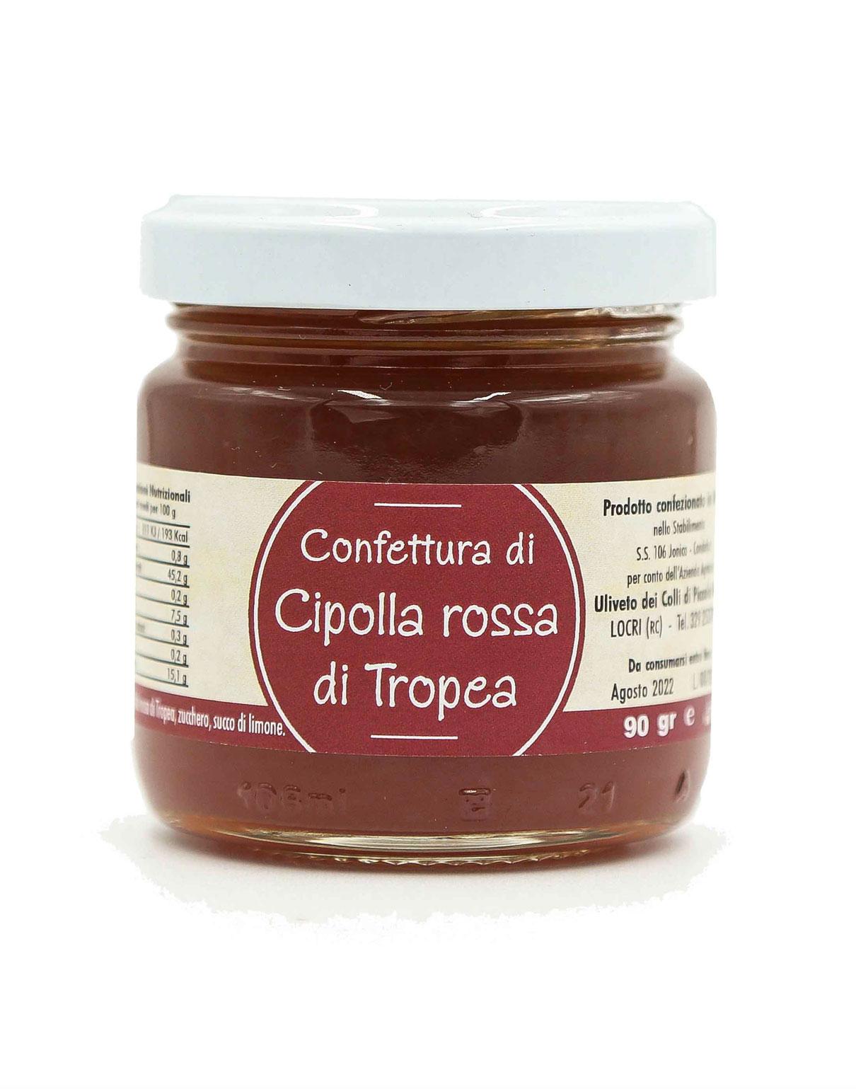 Prodotti tipici calabresi confettura di cipolle rosse