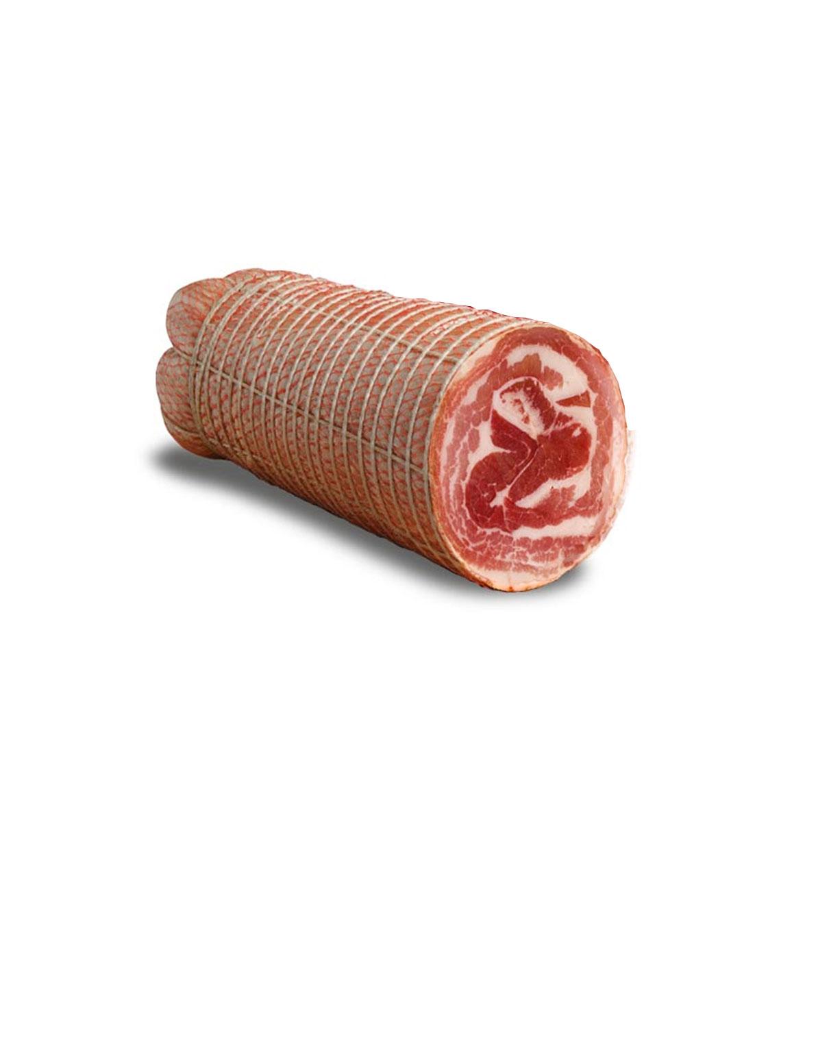 prodotti tipici calabresi pancetta arrotolata